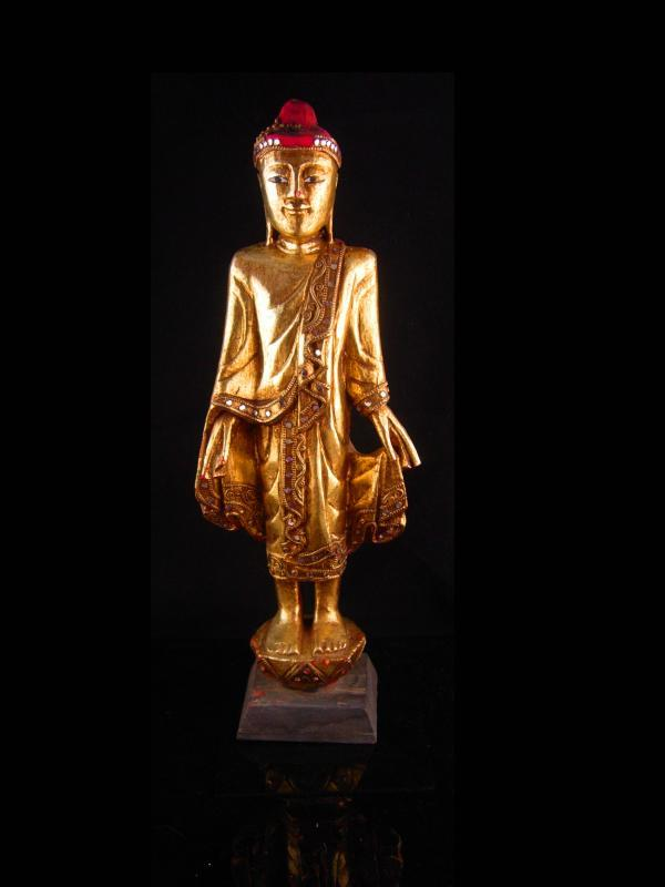 Vintage Chinese Buddha - 17
