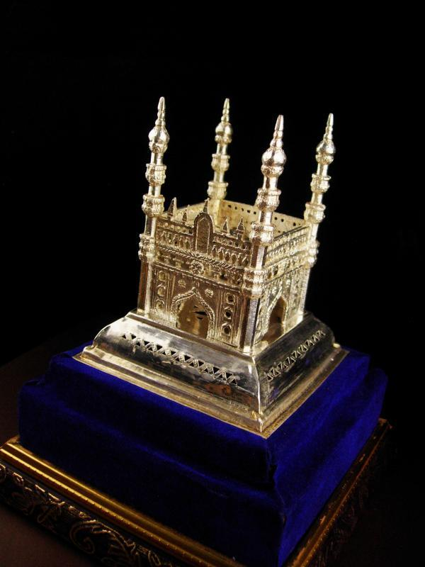 Taj Mahal - miniature silver palace - Persian wedding palace - Ottoman Empire - mausoleum architecture shrine