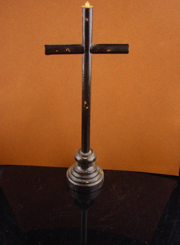Antique Alter Cross - 11