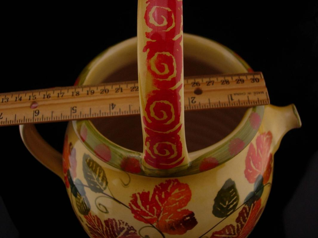 Italian Pottery - Vintage Handmade pitcher - Italica Ars Italian Pottery - 14