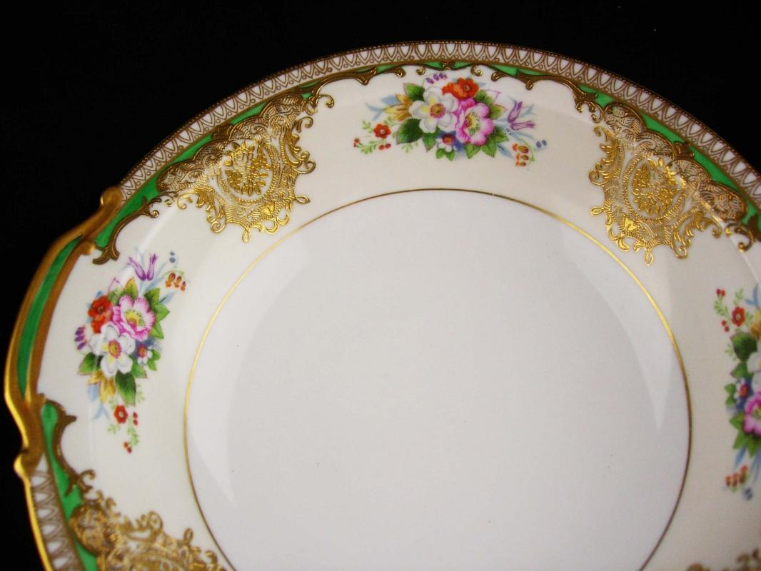 Vintage raised gold Bowl - Noritake SABINA 9