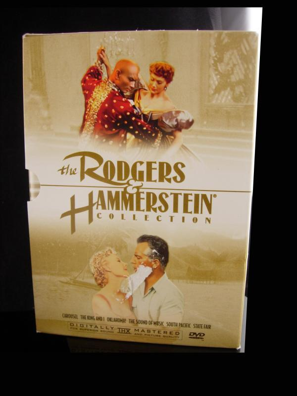 Rodgers & Hammerstein 6 dvd set - Sound of Music - The King and I - Oklahoma - South Pacific - State Fair - Carousel