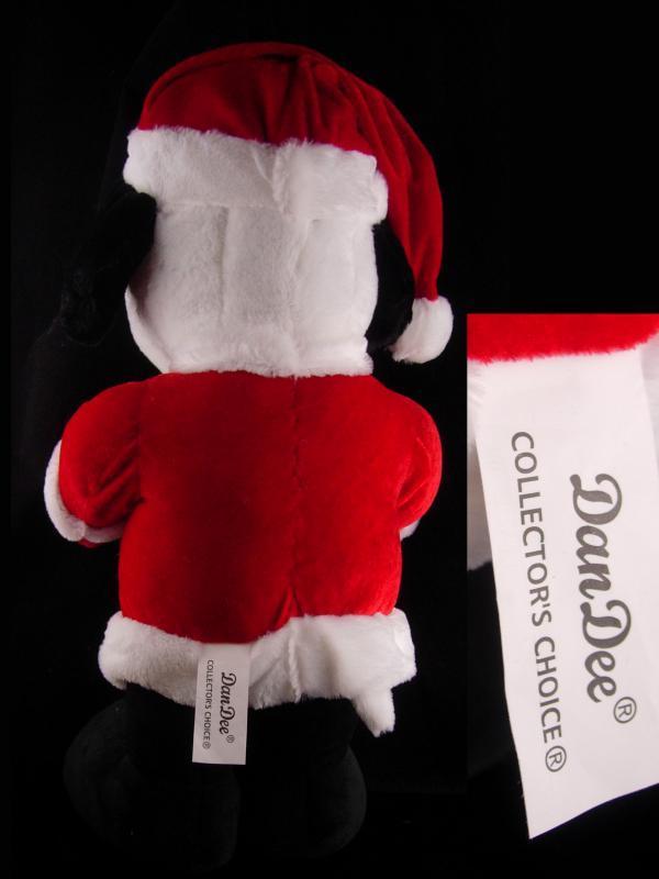 Huge Snoopy santa - Christmas Decoration - red santa suit - Vintage BIG 22