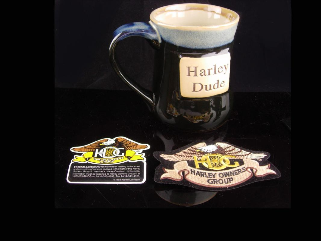 Harley Dude Coffee Cup - 5