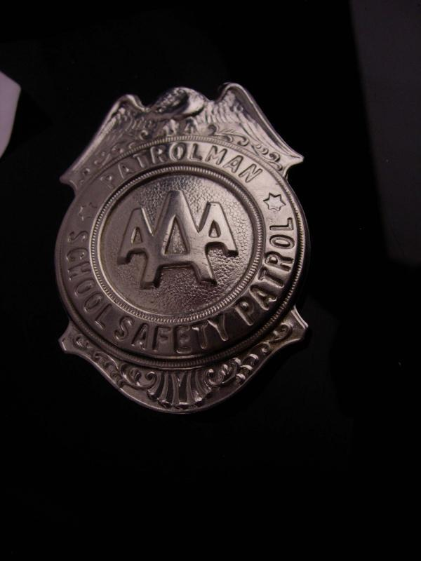 Vintage AAA Badge  - Grammes Allentown - 2 3/4