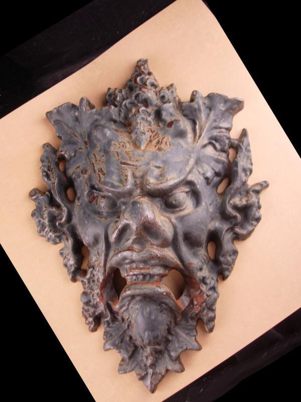 Antique gargoyle head - 12