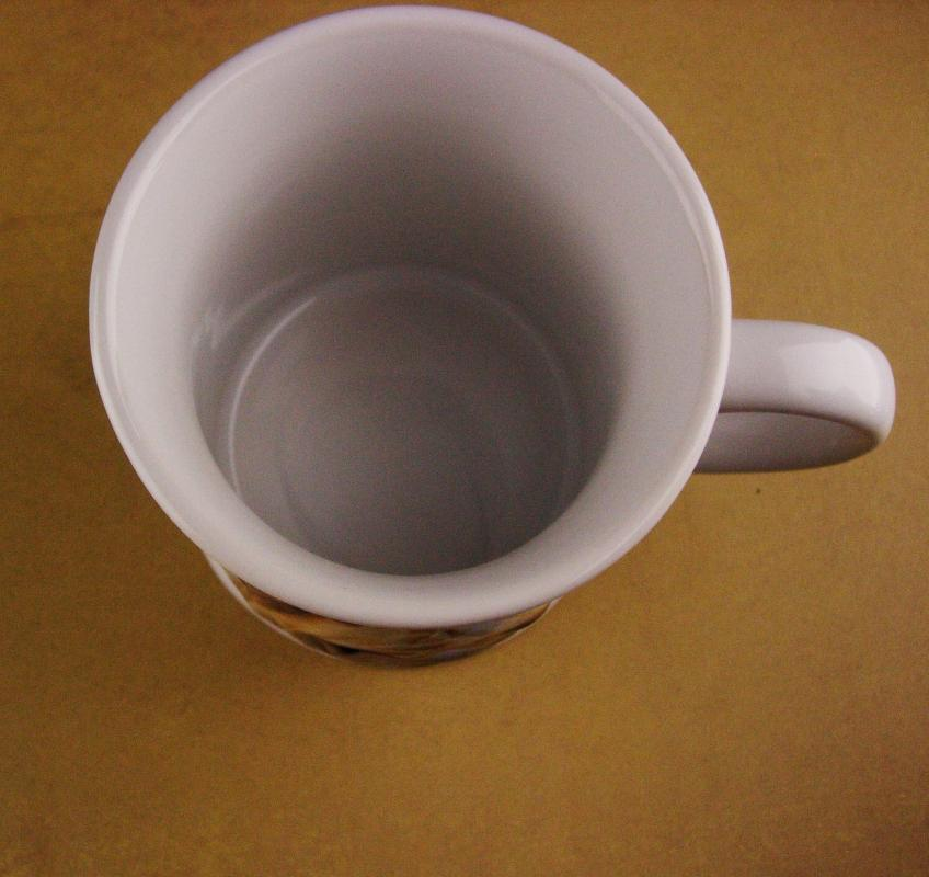 Vintage Bulldog Mug - 3 dimensional dog - 1999 coffee mug - English bulldog cup - Gift for dad