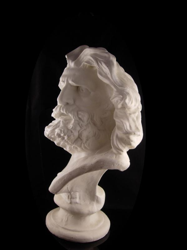 HUGE Zeus Bust - mythical statue - life size - Large 24