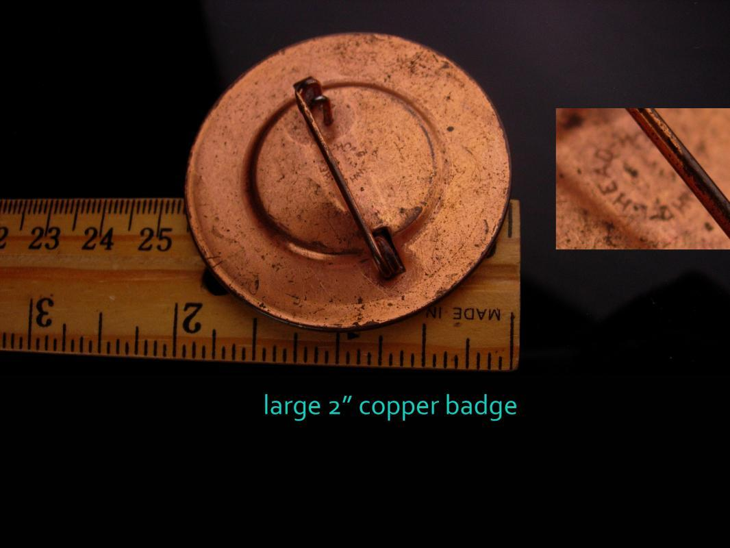 WW11 Navy photo badge - Vintage Naval Section base - Moorehead - Tompkinsville 2021135 - whitehead hoag rare id badge