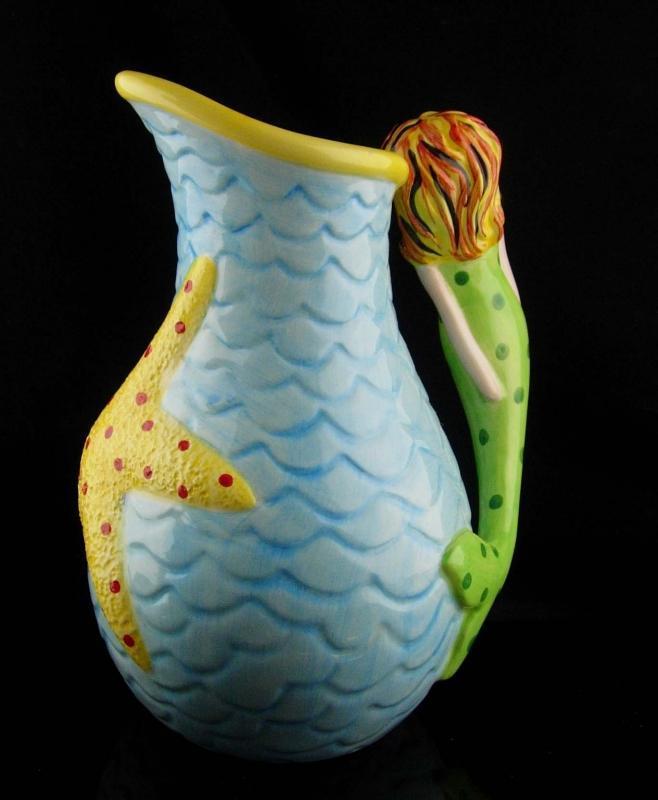 Hand painted Mermaid - 11