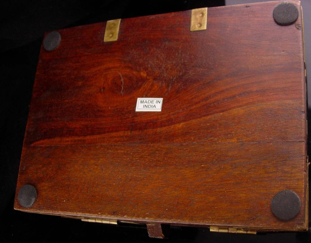 Medieval Box - Gurkha 125th Anniversary Edition Cigar Box - renaissance  box - Jewelry wood case - ornate heavy box
