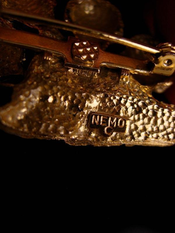 Vintage Beatles Brooch - signed nemo - Halcyon era - rock star novelty jewelry - ROck n Roll - John lennon Paul mccartney