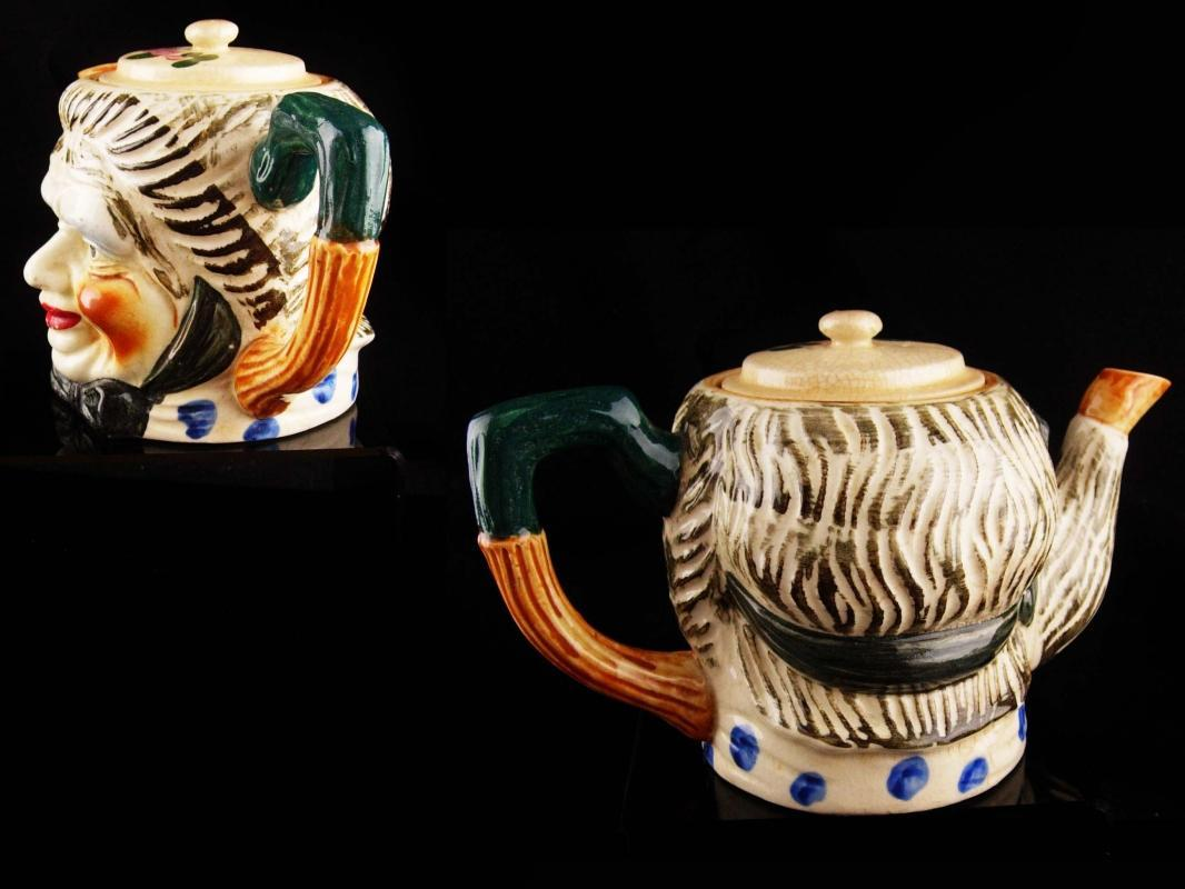 Large Vintage Toby teapot / Made in Japan / 5