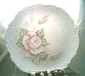 Porcelain/Hand Painted/Signed/Dated Plate
