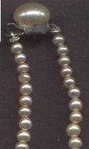 Necklace/Choker/Graduated Faux Pearl
