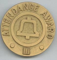 Service Pin/Southwestern Bell Telephone Attendence Award