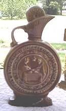 Bottle(s)/Jim Beam Elks/1968/Centennial Decanter