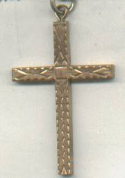 Religious/Pendent/Cross/Possibly Gold Filled Or Plated