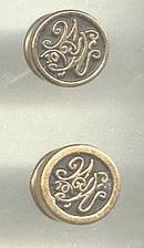 Tack Pins/Lapel Pins/Pr. Ornate ?W&N W/#10/No Marks