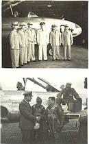 Photo(s)/Korean War Era/USAF Photos-TSUIKI Air Base Personel/TR-084 Shooting Star