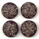 Button(s) 4 C.1900 Passementerie Buttons