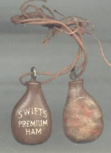 Charms/Advertising/3 Swift Premium Ham(s)