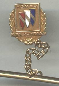 Award(s) Pin/Tie Tack/Honor Accountant 3