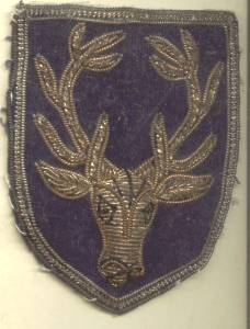 Fraternal/Embroidered Patch/Possibly The Elks Lodge