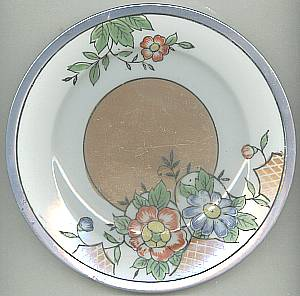 Porcelain/China/4-Hand Painted Desert Plates