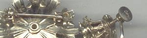 Set(s)/Designer Coro GT Brooch&Ear Screws W?Purple Stones