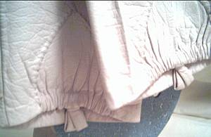 Gloves/Ladies 3/4/Ecru Kid Leather/NeimanMarcus/French