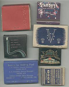 Smoking Items/13 Old Matchbooks and Matchbook Covers(empty)
