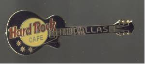 Advertising/Brooch/Pin/Hard Rock Cafe/Dallas,Texas