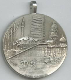 Advertising/Comemorative Medallion/Kuala Lumpur