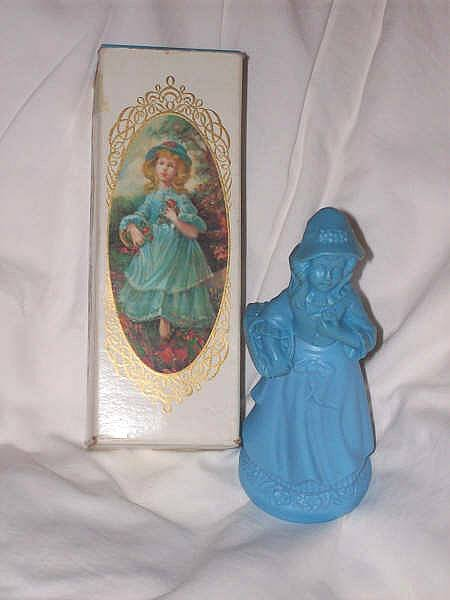 Avon/MIB Little Blue Girl/Brocade Fragrance