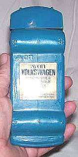 Avon/Blue/Volkswagan/Windjammer After Shave Decanter/Empty/No Box