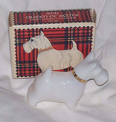 Avon/MIB Queen of Scots Sweet Honesty Cologne Decanter
