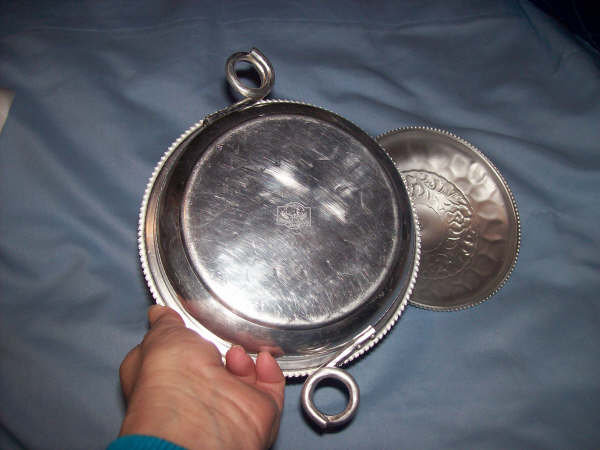 Kitchenware/Small Round Lided Aluminum Bowl/Royal Sealy Japan