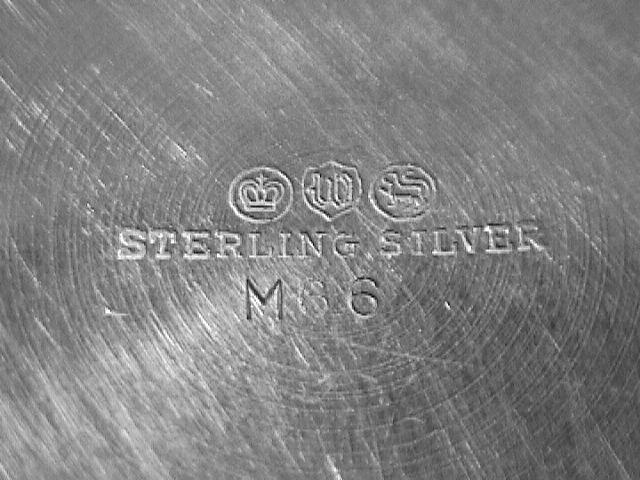 Watson Silver Co. Sterling Muffineer #M66