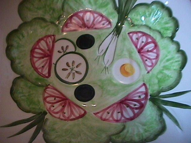 Los Angeles Potteries Salad Serving Bowl
