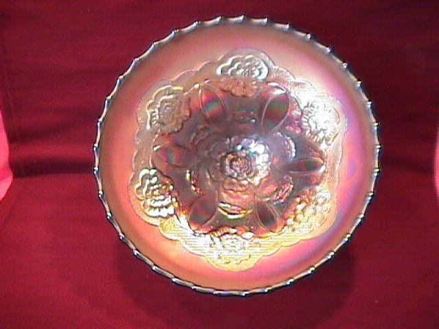Dugan (Double Stem Rose) Bowl (Amethyst)