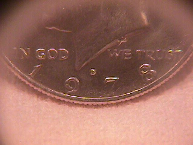 United States Coinage Kennedy Half Dollar Roll 1978-D