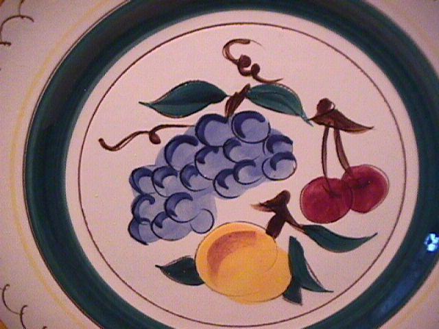 Stangl Potteries (Fruit) Peg Handled Soup