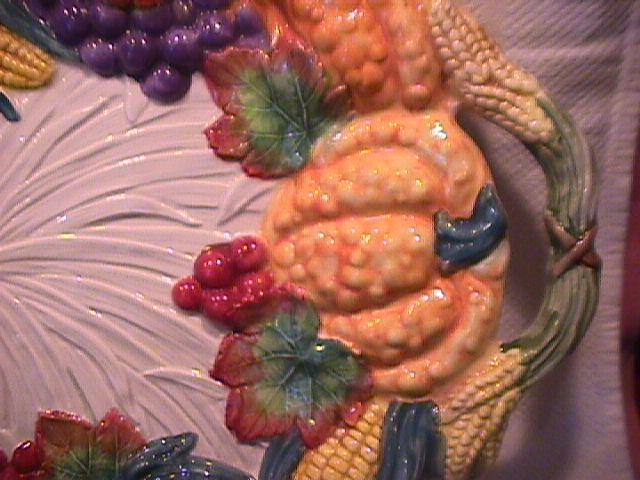 Fitz & Floyd (Bountiful Harvest) Banquet Platter