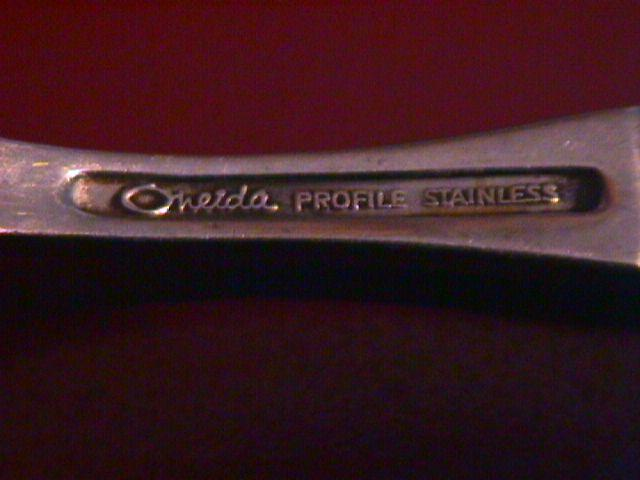 Oneida Profile Stainless (Phoenix) Cold Meat Fork