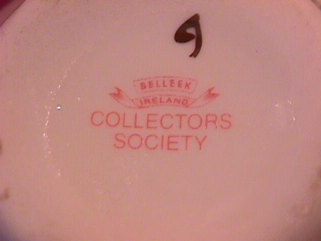 Belleek Porcelain (Stork Vase) Collectors Society