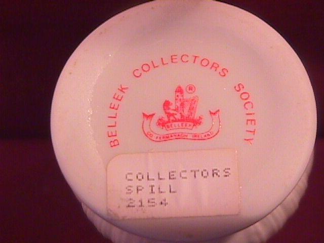 Belleek Porcelain (Spill Vase)