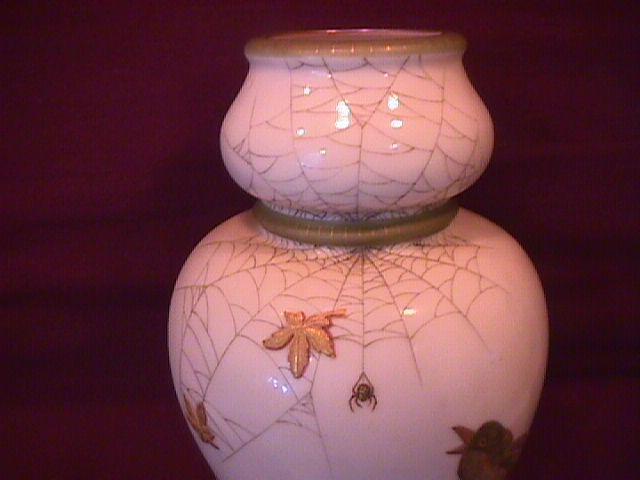 Art Nouveau Gourd Form Vase=1858