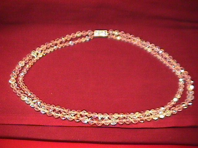 Aurora Borialis 2-Strand Necklace