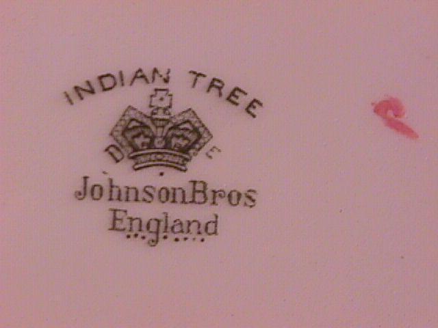 Johnson Brothers (Indian Tree) Ham Platter
